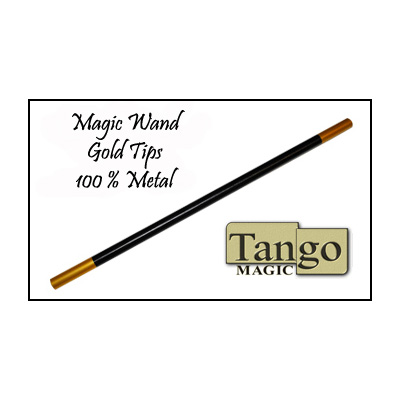 Magic-Wand-in-Black-(with-gold-tips)-by-Tango