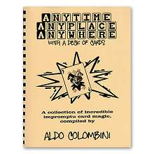 Anytime, Anyplace, Anywhere - Colombini