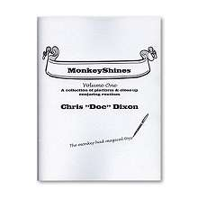Monkeyshines Volume 1 by Doc Dixon