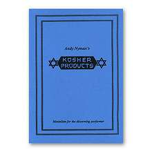Kosher Products: Lecture Notes by Andy Nyman