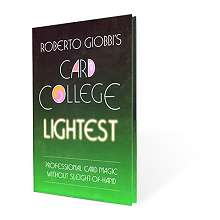 Card College Lightest by Robert Giobbi