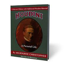 Houdini Book by Milbourne Christopher