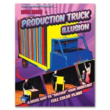 Production Truck Illusion by Wayne Rogers