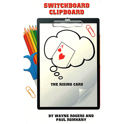 Switchboard Clipboard the Rising Card  by Paul Romhany and Wayne Rogers