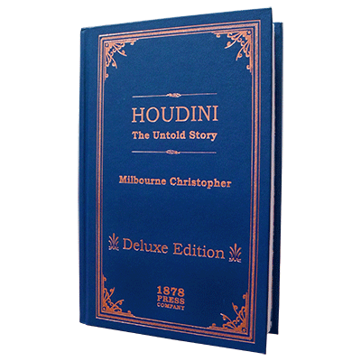 Houdini - The Untold Story (Delux Edition) by Milbourne Christopher