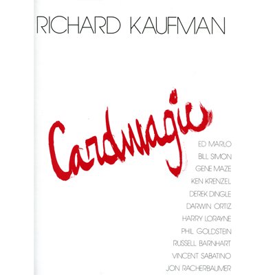 Card Magic by Richard Kaufman*
