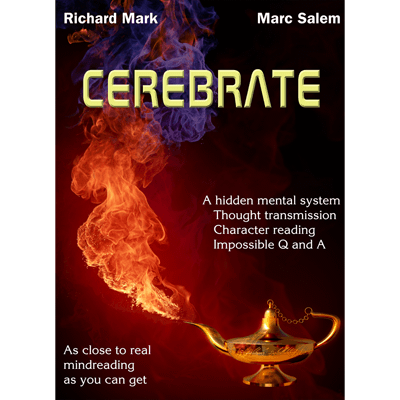 CEREBRATE (with Gimmicks) by Marc Salem & Richard Mark