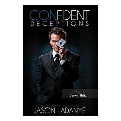 Confident Deceptions by Jason Ladanye and Vanishing Inc (Book w/DVD) ook*