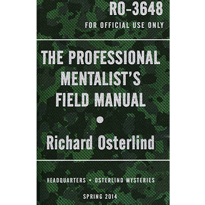 The Professional Mentalists Field Manual by Richard Osterlind