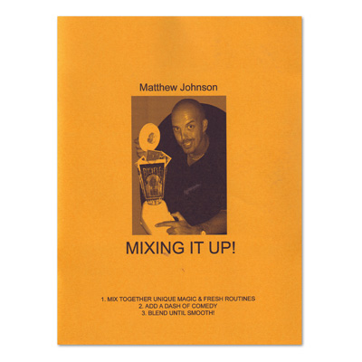 Mixing It Up book Matthew Johnson*
