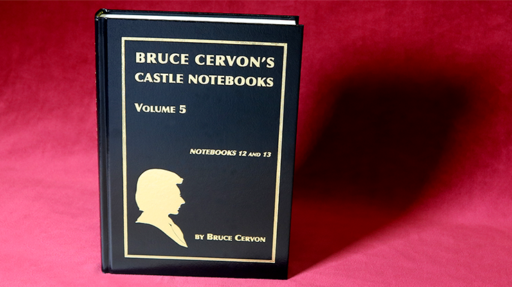 Bruce Cervon Castle Notebook -  Vol. 5