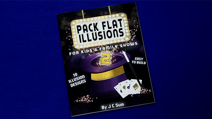 Pack Flat Illusions 2 for Kid`s & Family Shows by JC Sum