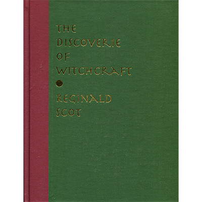 Discoverie of Witchcraft book*