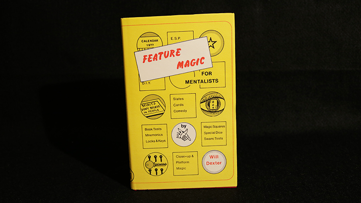Feature-Magic-for-Mentalists-Limited/Out-of-Print-by-Will-Dexter*