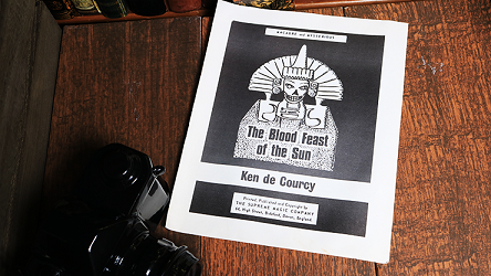 The Blood Fest of the Sun by Ken De Courcy
