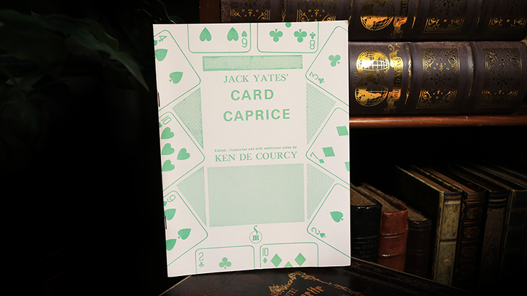 Jack Yates` Card Caprice by Ken de Courcy