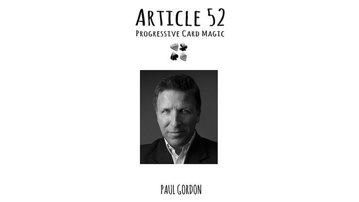 Article 52 by Paul Gordon