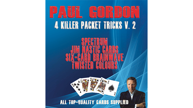 Paul Gordon`s 4 Killer Packet Tricks Vol. 2