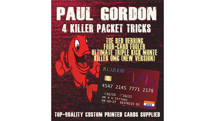 Paul Gordon`s 4 Killer Packet Tricks Vol. 1