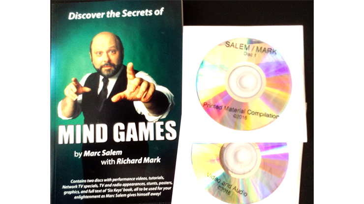 Discover the Secrets of MIND GAMES by Marc Salem with Richard Mark*