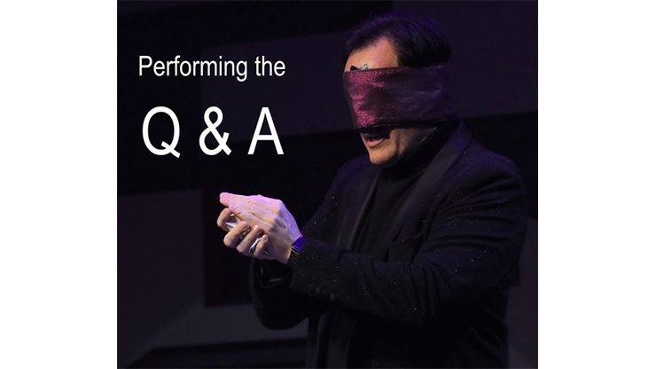 Performing the Q&A by Gerry McCambridge*
