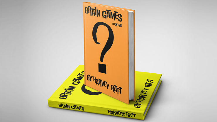 BRAIN GAMES (2 Volume Set) by Harvey Raft