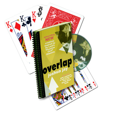 Overlap (With DVD, Cards, And Jumbo Cards) by Joshua Jay