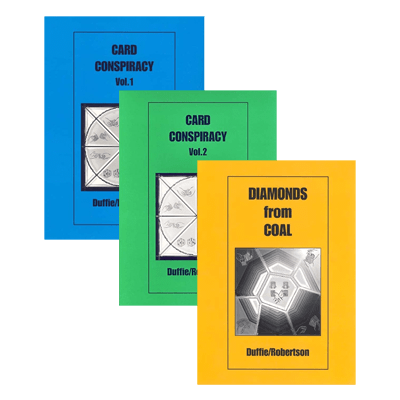 The Duffie/Robertson Trilogy (Card Conspiracy Vol. 1 and 2 and Diamonds from Coal)  eBook DOWNLOAD