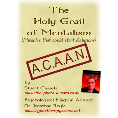 Holy Grail Mentalism by Stuart Cassels and Jonathan Royle - DOWNLOAD Ebook