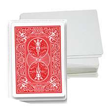 Cards - Blank Face - RED
