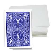 Cards - Blank Face - BLUE
