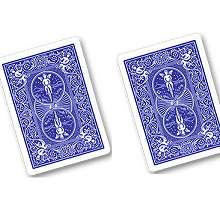 Cards -  Double Back Blue/Blue