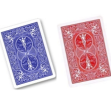 Cards--Double-Back-Red/Blue