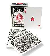 Cards - Regular Bicycle - black