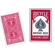 Bridge Size Bicycle Cards