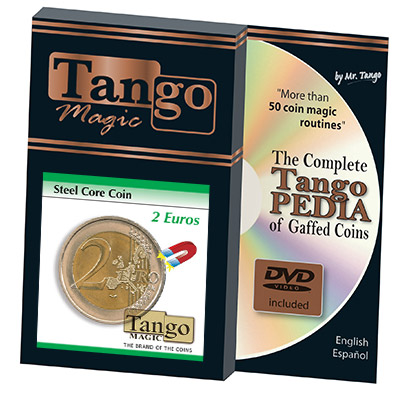 Steel Core Coin 2 Euro by Tango