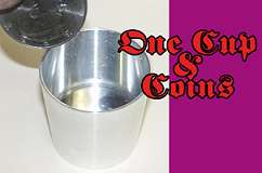 One Cup & Coins