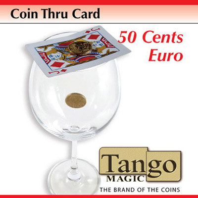 Coin Thru Card (50 cent Euro w/DVD) Tango