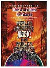 Torn & Restored Newspaper - - Worlds Greatest Magic