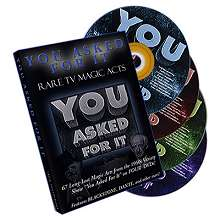 You Asked For It- Rare TV Magic Acts (4 DVD Set)