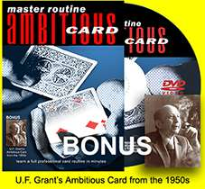 Master Routine: Ambitious Card DVD
