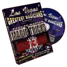 Easy to Master Magic Tricks By Las Vegas Greatest Magicians*