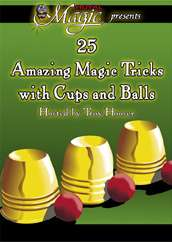 25 Tricks With Cups & Balls