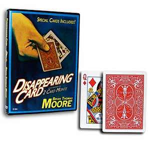 Disappearing Card - Two Card Monte