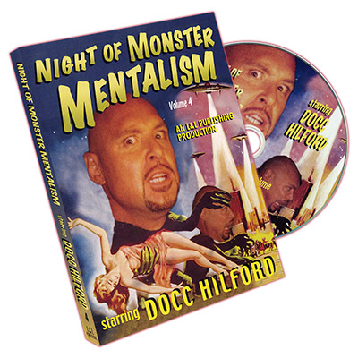Night Of Monster Mentalism - Volume 4 by Docc Hilford*
