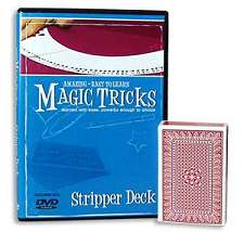 Amazing Easy To Learn Magic Tricks - Stripper Deck*