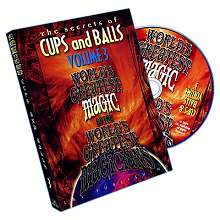 Cups and Balls DVD - Worlds Greatest Magic