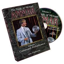Magic-Of-Michael-Ammar--DVD