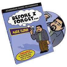 Before I Forget by Mark Elsdon