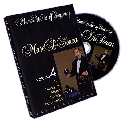 Master Works of Conjuring Vol. 4 by Marc DeSouza*